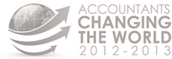 Accountants changing the world 2012 - 2013